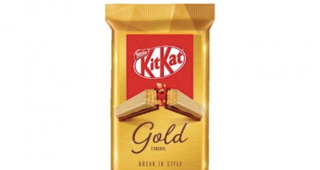Anche in Italia arriva il KitKat d'oro in edizione limitata