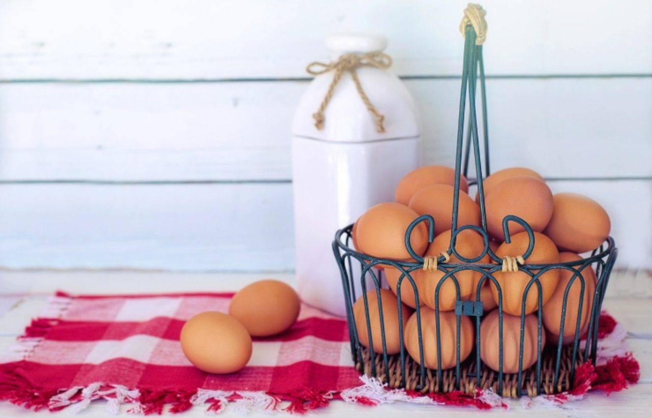 Pasta con l'uovo piccoli