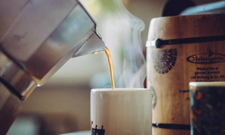 caffè dalla moka
