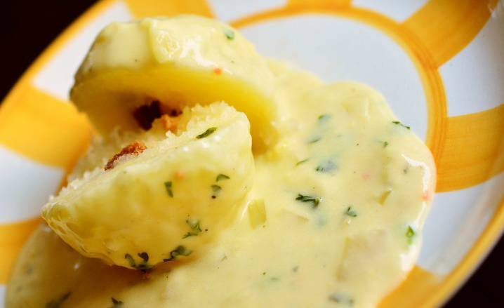 gnocco al formaggio