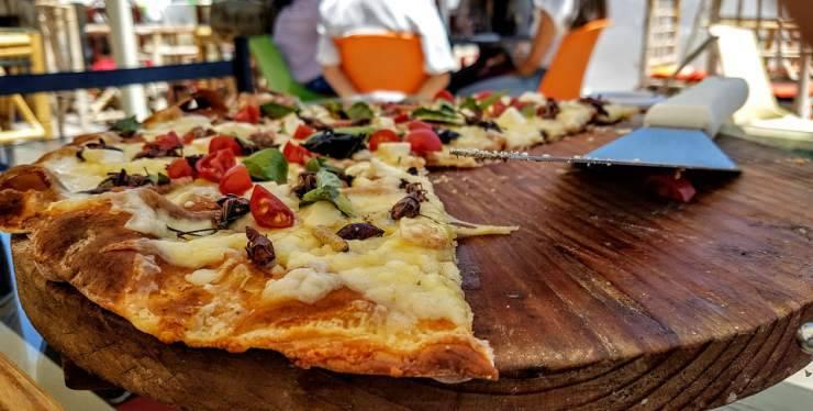 pizza d'insetti