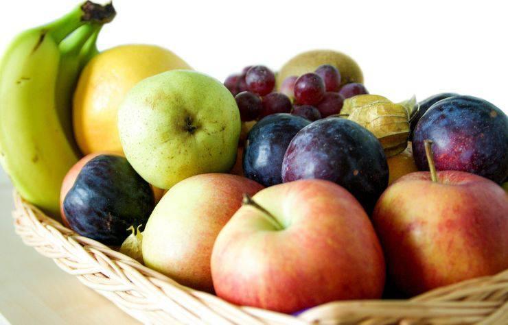 Mangiare frutta dopo pasti