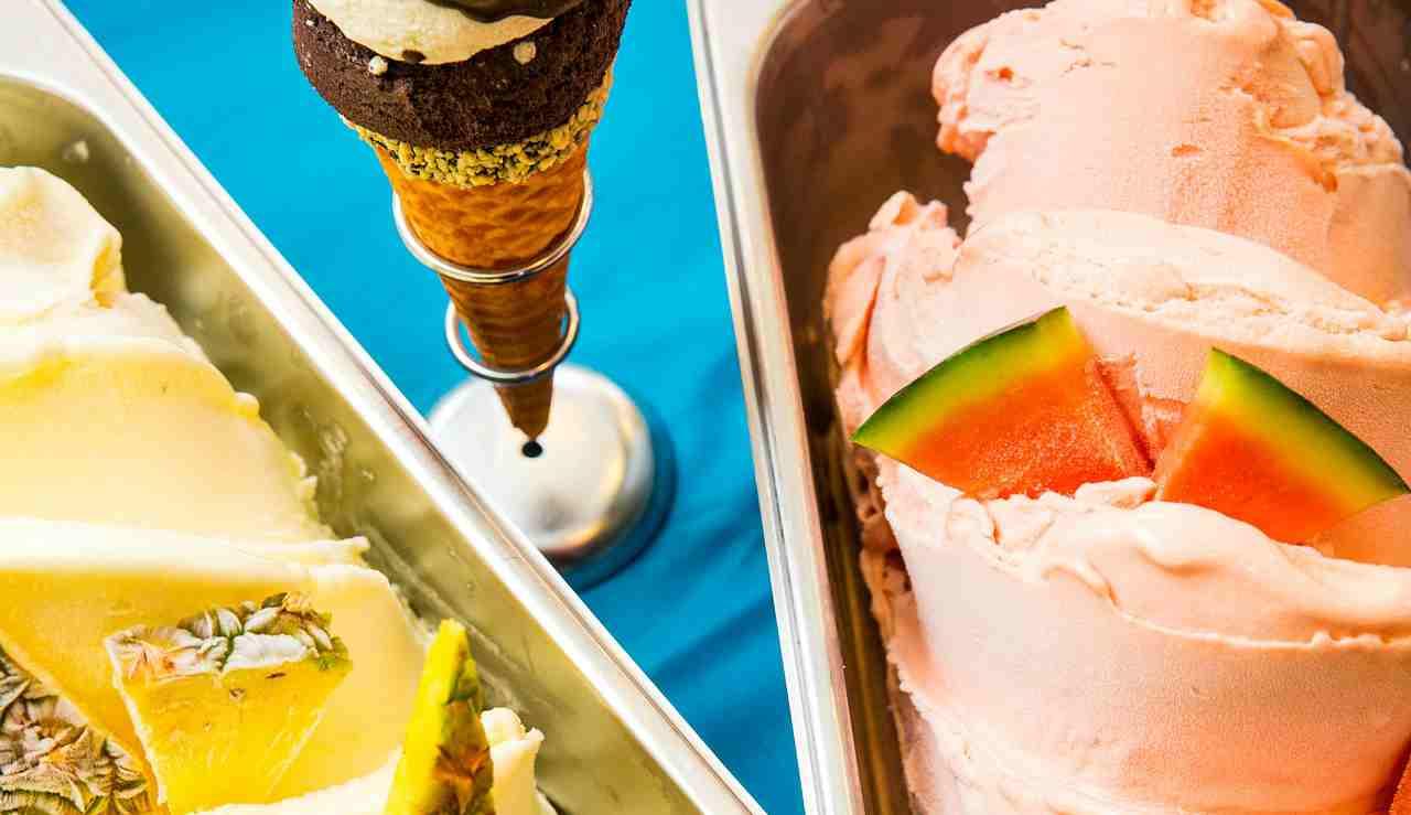 gelato in vaschetta