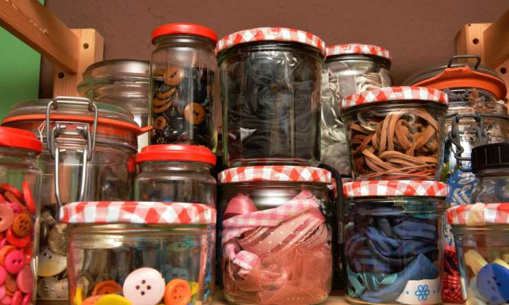 barattoli riciclati