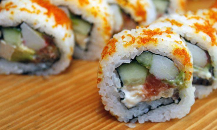sushi di pesce