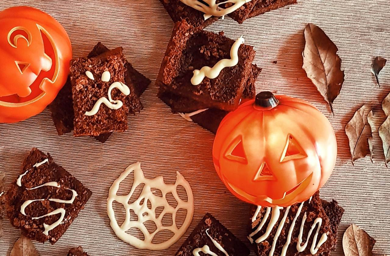 Dolcetti morbidi di Halloween: tagliali a cubotti e rendili super spaventosi