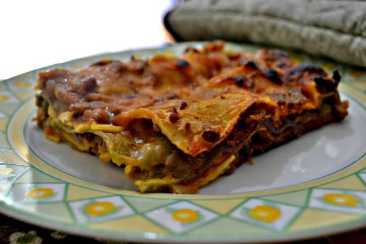 lasagna zucca, ingrediente
