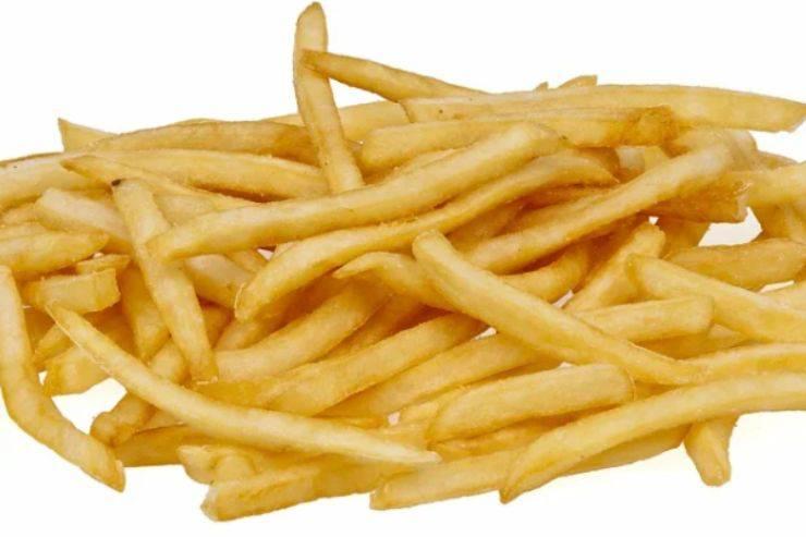 Patatine fritte: il trucco per averle croccanti come quelle del Mc