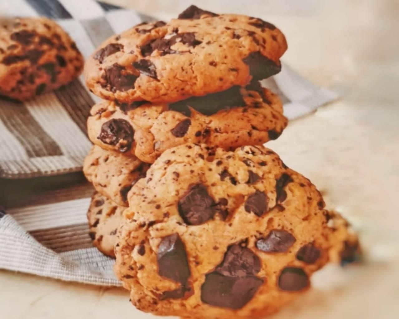 Cookies senza latte e senza uova: pronti in 5 minuti, il risultato è incredibile