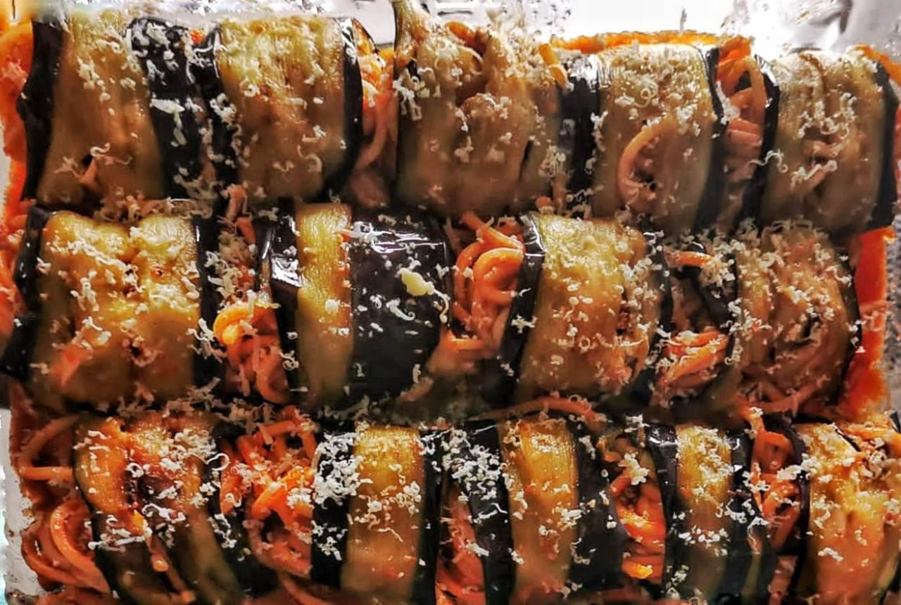 Pasta al forno: farcisci le melanzane e arrotola, il risultato è incredibile