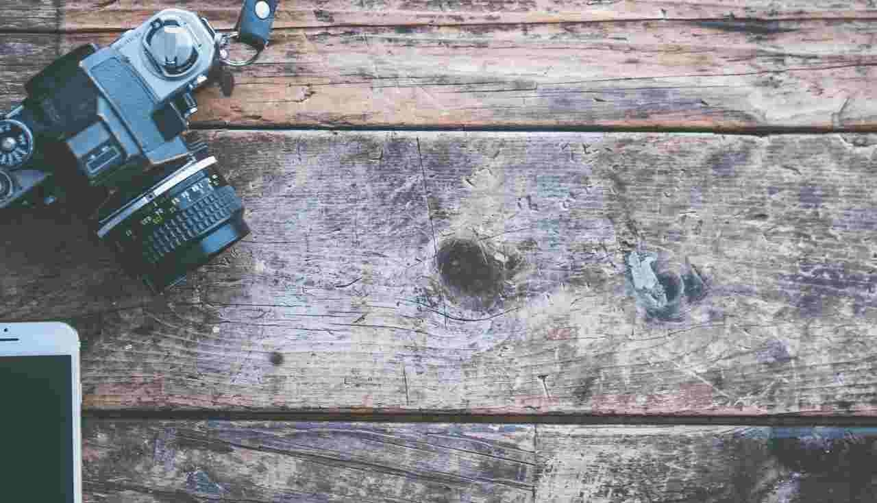 graffi sul legno, metodi di riparo