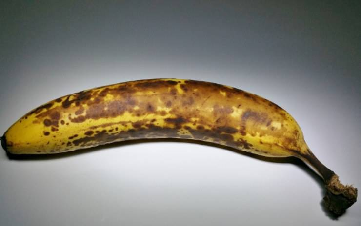 Banane trucchetto annerire