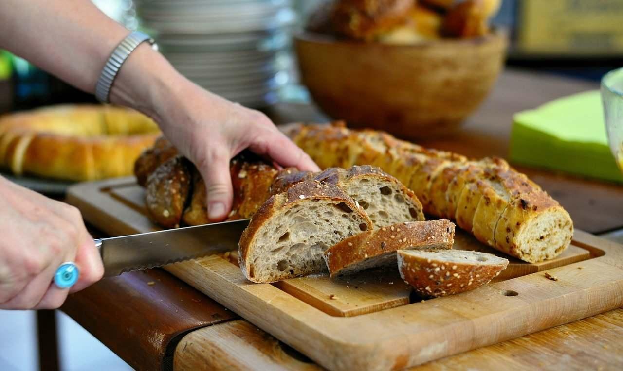 cena velocissima pane