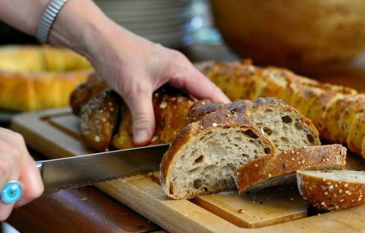 piatto povero pane