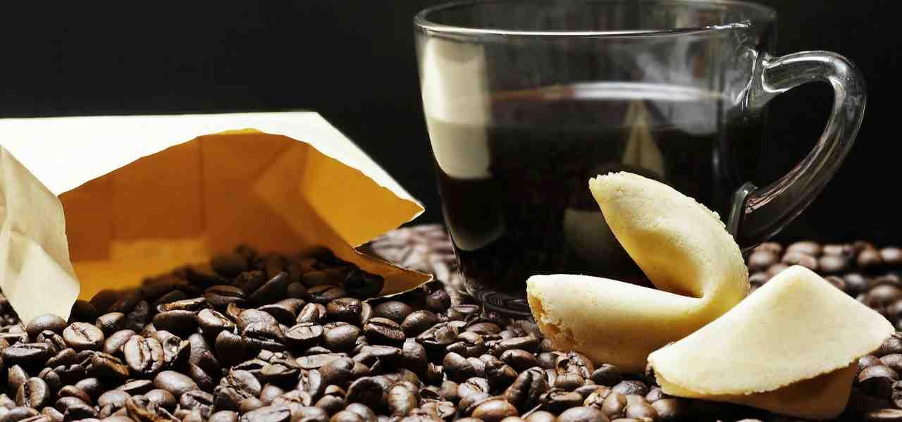 biscotti della fortuna al caffè