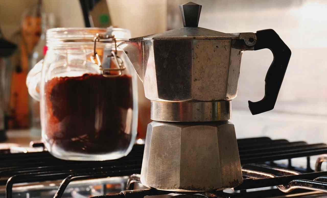 trucco della caffettiera