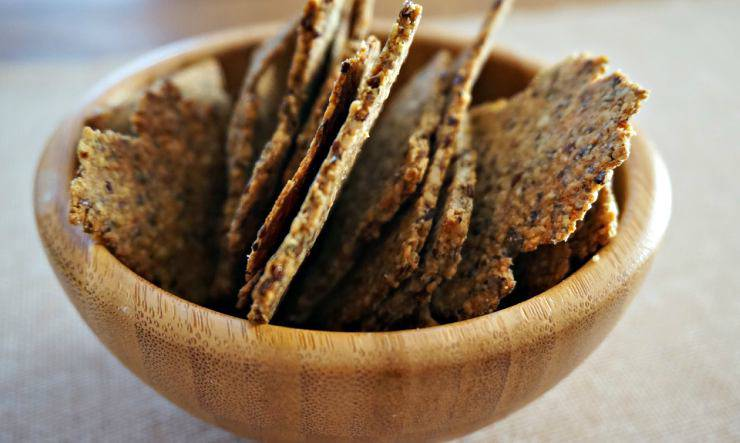 crackers da aperitivo, la ricetta