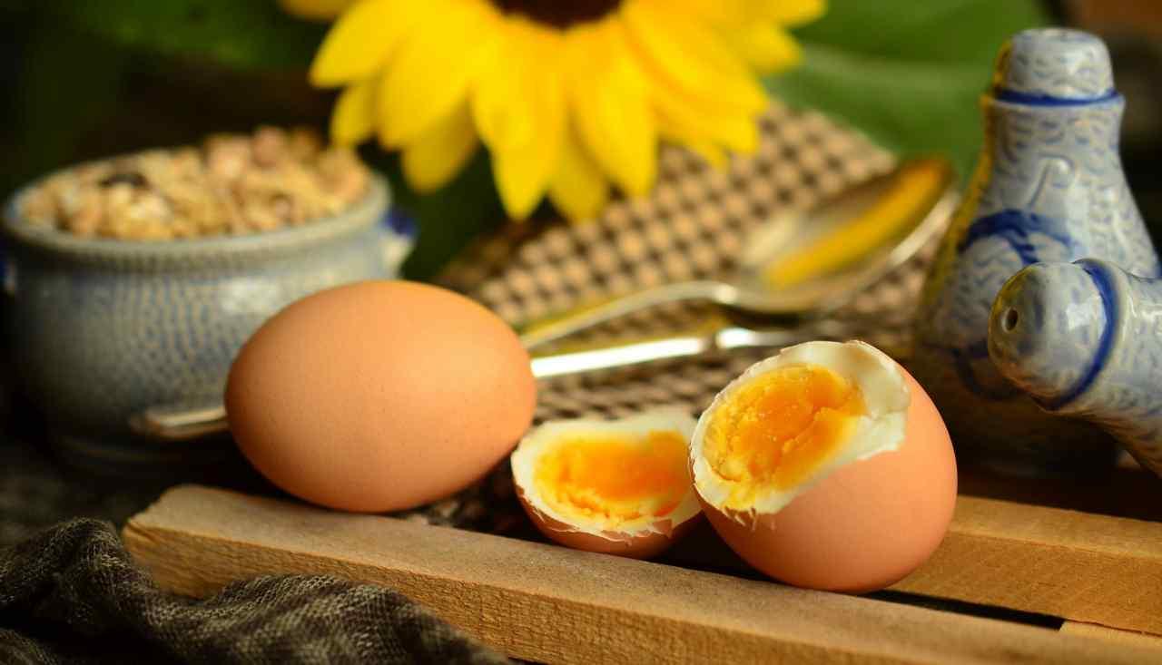 uova acqua speciale