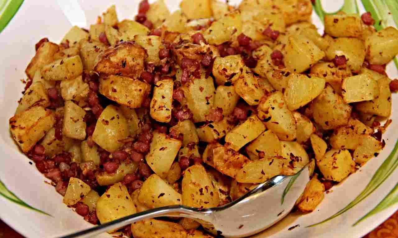 insalata fritta di patate