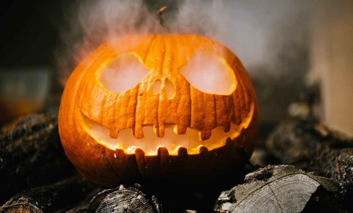halloween intagliare zucca