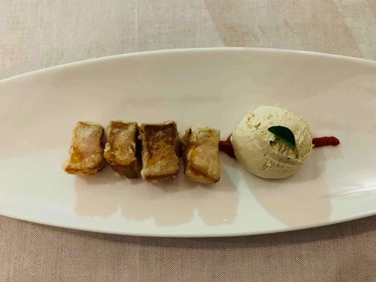 maialino in tempura Ciavattini ristorante