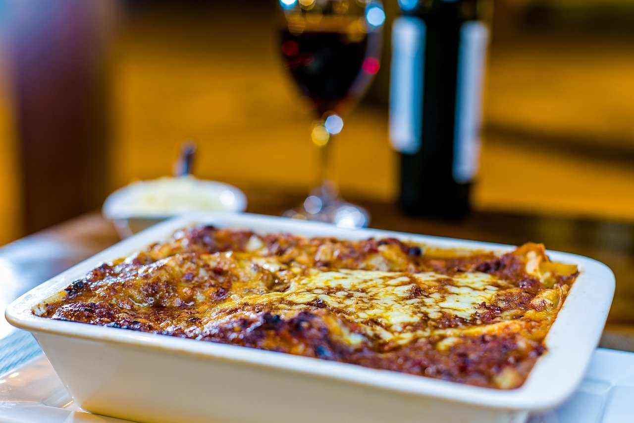 lasagna senza pasta