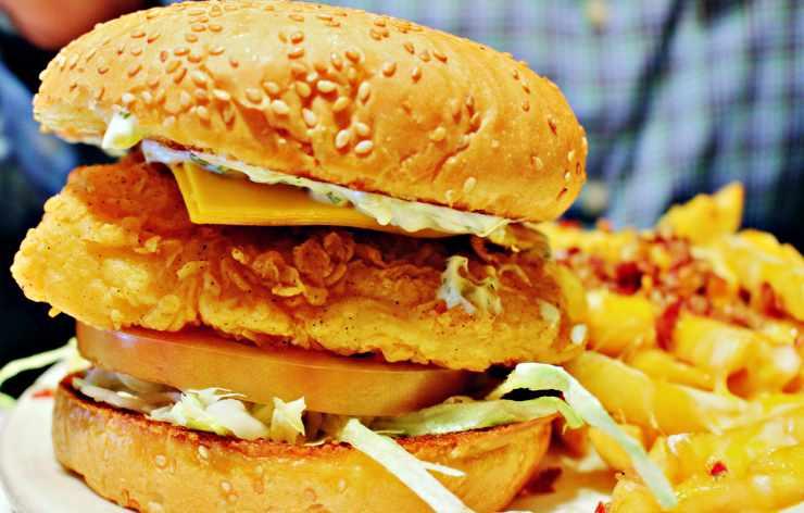 hamburger non carne