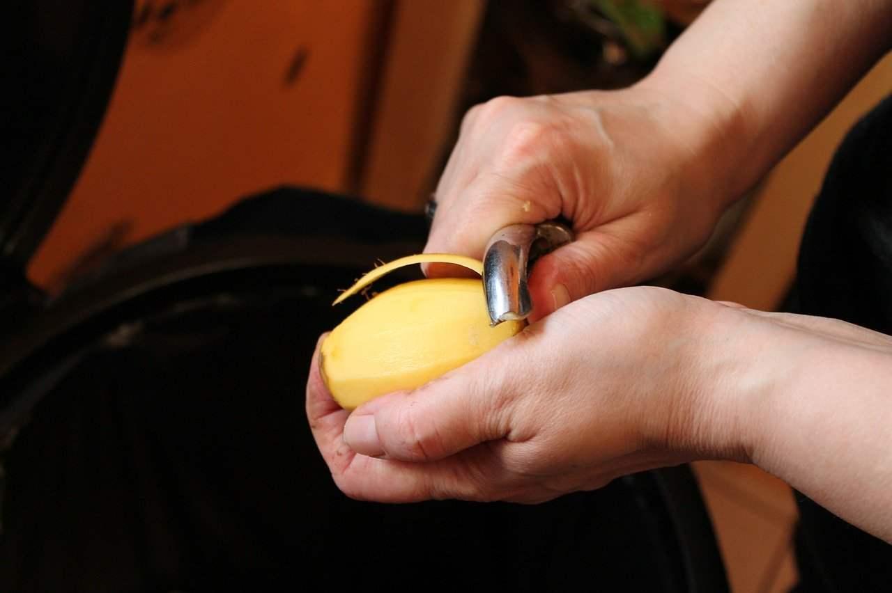 conservare patate sbucciate