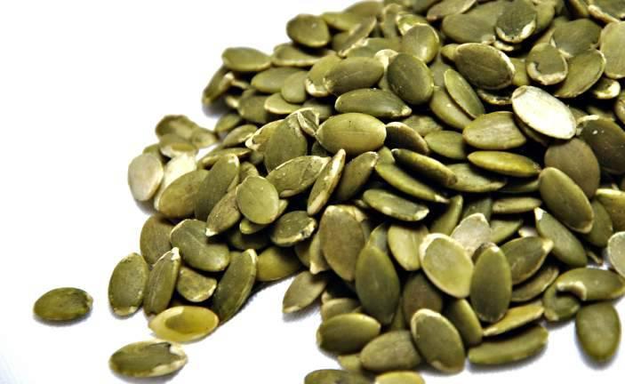 semi di zucca in cucina
