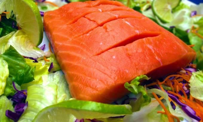 salmone in padella