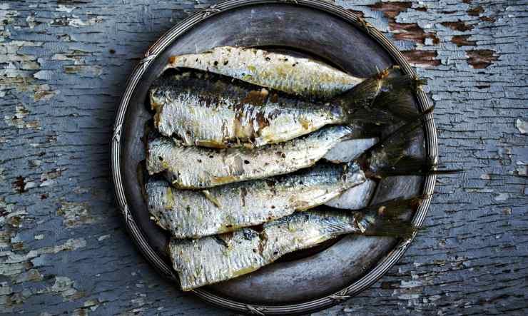 Sardine impanate del sud