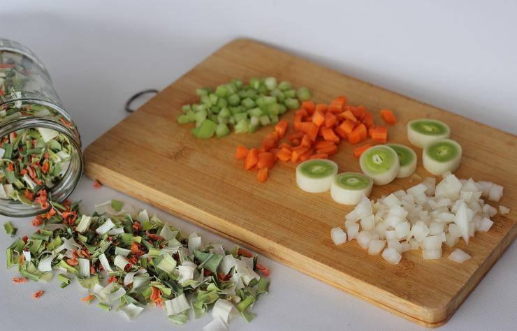 Brodo vegetale trucco