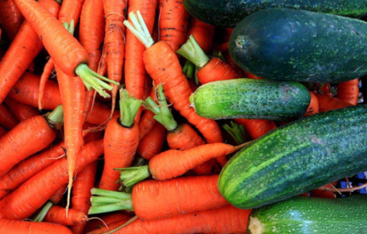 Carote zucchine patate
