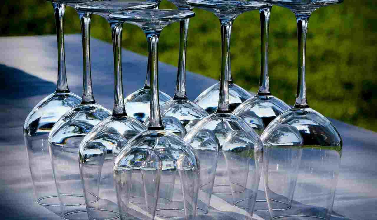 bicchieri lucidi metodo
