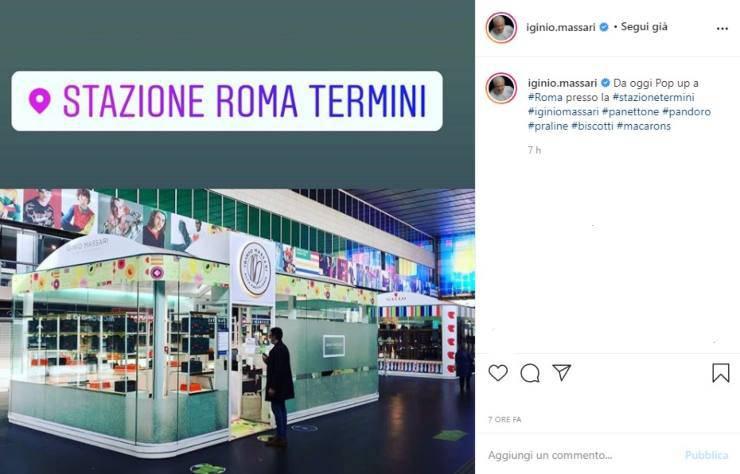 Iginio Massati annuncio