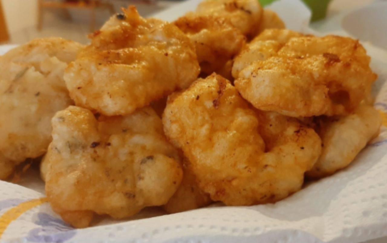 Bocconcini di pollo fritti