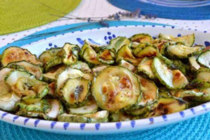 Zucchine alla scapece light: il contorno adatto anche alla dieta