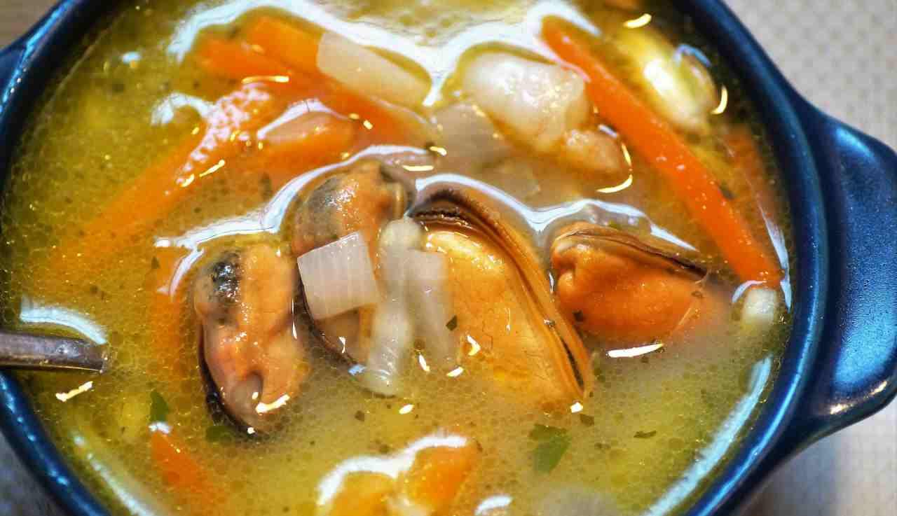 zuppa mare ricetta
