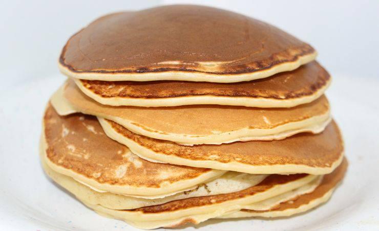 Pancakes senza latte burro