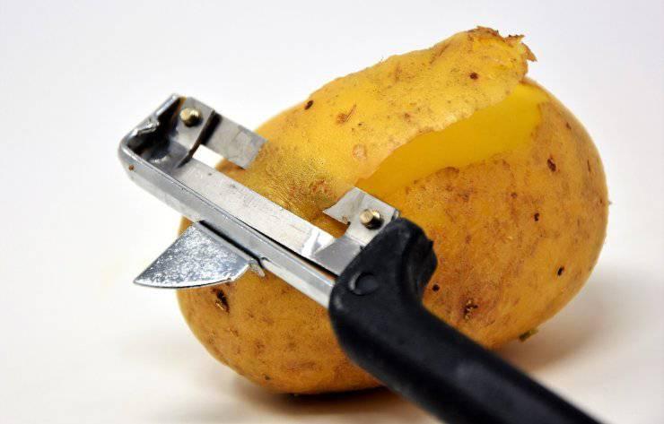 Tagliate patate fette