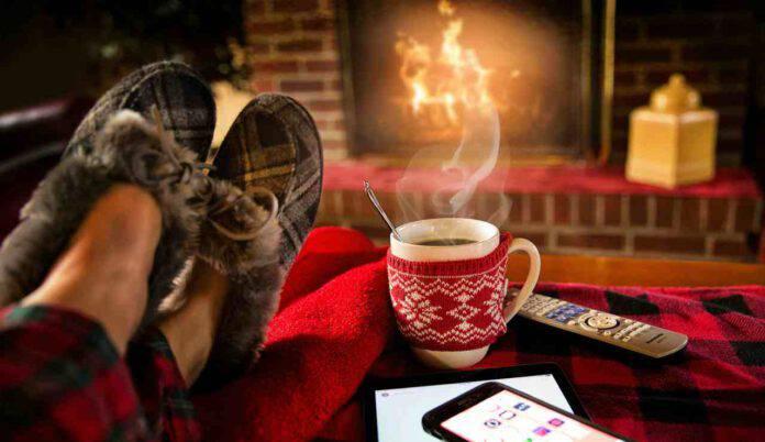 casa inverno calore