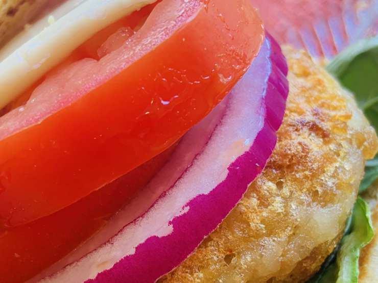 donald hamburger vegano