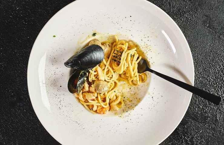 Carbonara di mare ricetta veloce