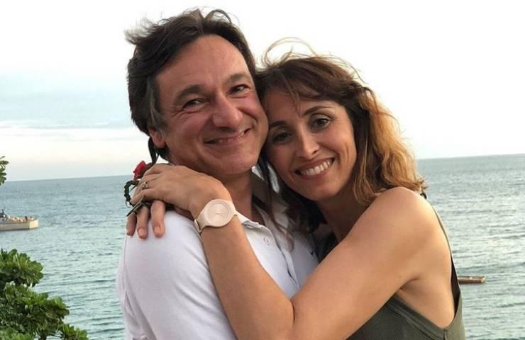 Benedetta Parodi festeggia anniversario cena Fabio ristorante