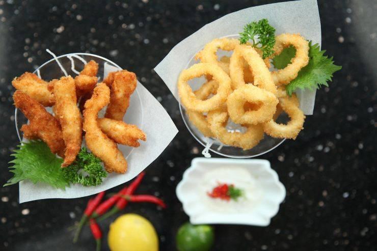 finti calamari fritti