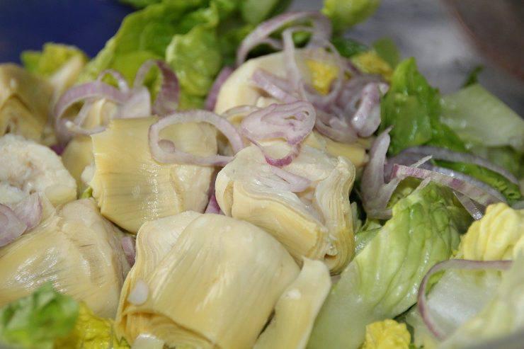 insalata di carciofini