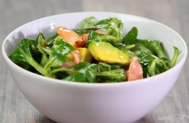 insalata gamberi e mango