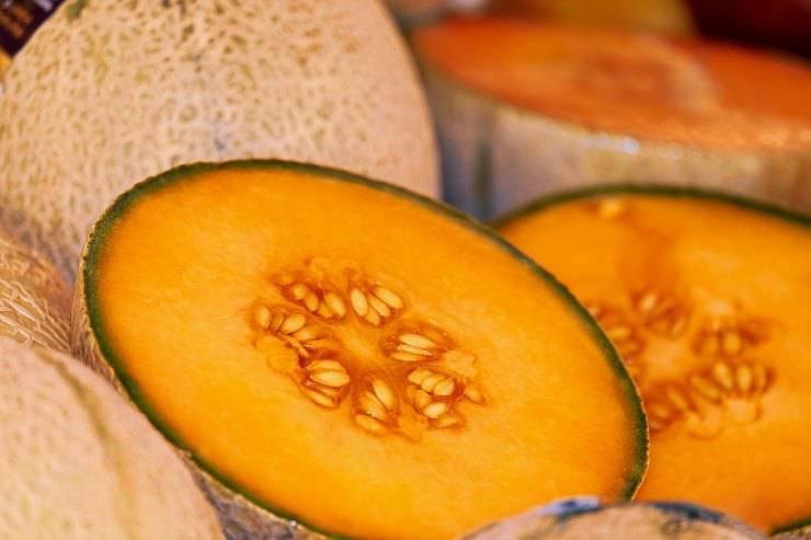 melone fresco per antipasto