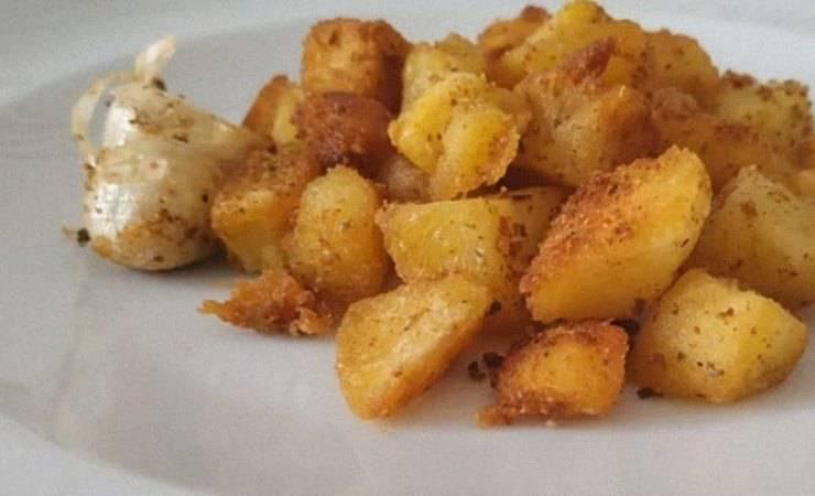 patate sabbiose con birra