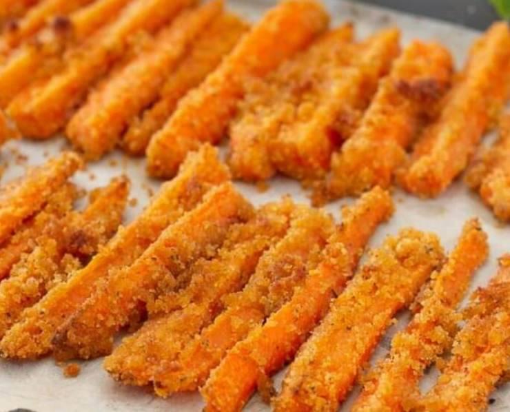 stick carote gratinati forno